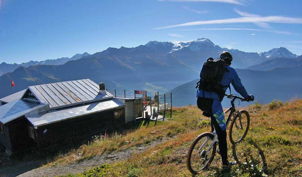 Mountain bike La Breya, percorso n°194