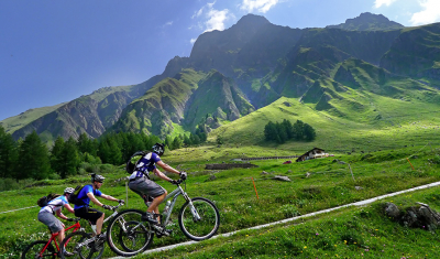 Mountain bike, Tour du Mont-Blanc
